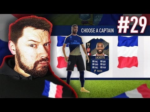 FULL FRENCH TEAM DRAFT!! - #FIFA18 DRAFT TO GLORY #29