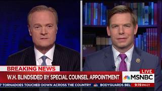 Rep. Swalwell on MSNBC discussing Robert Mueller's appointment as special counsel