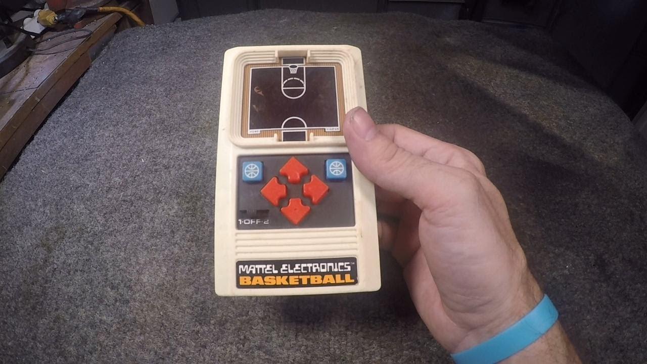 1978 Mattel Electronics Basket Ball game. Broken. Restoration.
