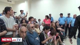 Սեֆիլյանին դատարանի դահլիճում դիմավորեցին ծափողջուններով