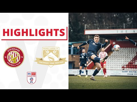 Stevenage Morecambe Goals And Highlights