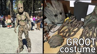 Making my Groot costume
