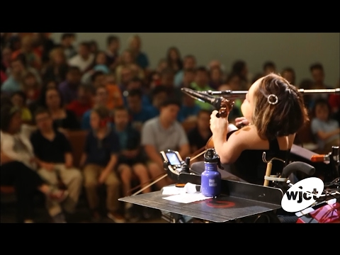 "LIVE: NPR Tiny Desk winner Gaelynn Lea performs ""South Wind."""