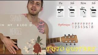 In my blood - Shawn mendes - Tuto guitare Video