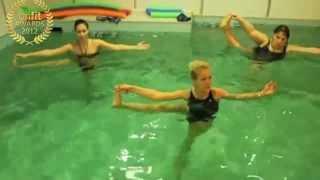 Занятия аква-аэробикой @ Fitland