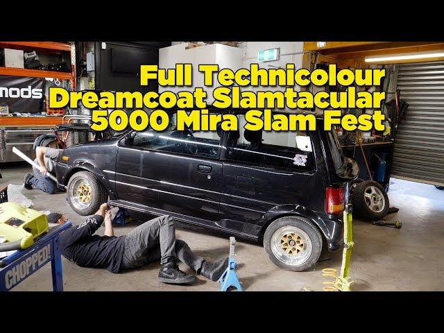 Full Technicolour Dreamcoat Slamtacular 5000 Mira Slam Fest