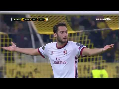 AEK Athens vs Milan Highlights & Full Match 2/11/17 - Europa League