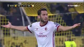 Download Video AEK Athens vs Milan Highlights & Full Match 2/11/17 - Europa League MP3 3GP MP4