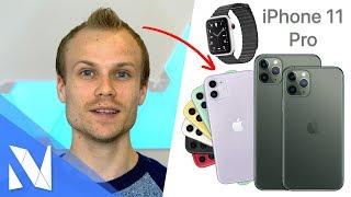 Das ist das neue iPhone 11 (Pro) - Apple Keynote Zusammenfassung! | Nils-Hendrik Welk