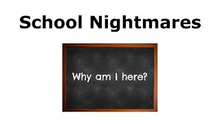 The Truth About Asperger's Syndrome - 7 - School Nightmares