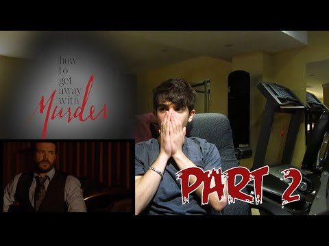 "How To Get Away With Murder Season 2 Episode 6 REACTION - 2x06 ""Two Birds, One Millstone"" PART 2"