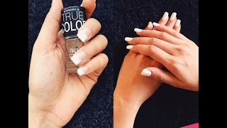 Inexpensive DIY Acrylic nails in minutes!