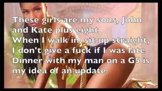 Nicki Minaj - Only (Explicit) Lyrics