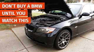 DON'T BUY A BMW UNTIL YOU WATCH THIS!(Buying your first Bimmer? Here's a few inspection tips that will ensure you are getting the best car for your money!, 2016-01-10T02:14:50.000Z)