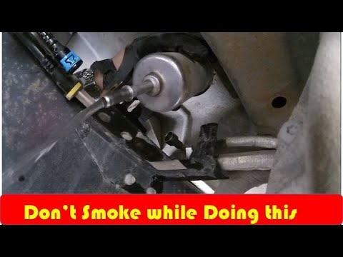 Ford F150 Fuel Filter DIY 2003 2008 - YouTube