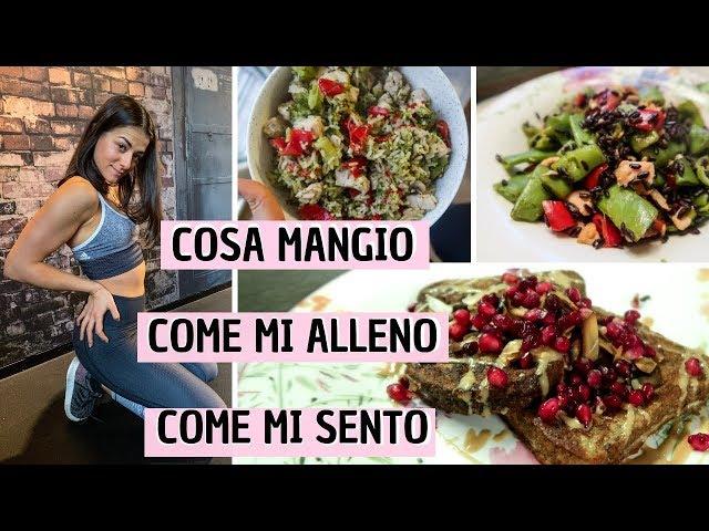 UN GIORNO NELLA MIA VITA - Food, Fitness, Testa. - vlog #88