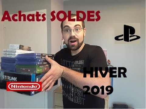 Achats SOLDES Hiver 2019