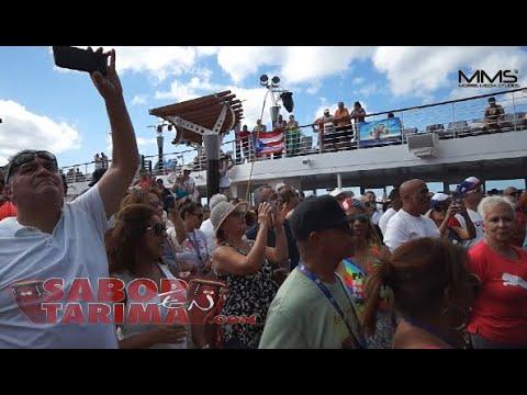 Salsa Cruise 2019 - Don Perignon y la Puertorriquena Canta Riko Walker