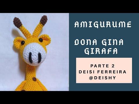 giraffe crochet pattern giraffe doll giraffe by ThePinkFoxStitches ... | 360x480
