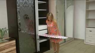 видео Купить встраиваемую гладильную доску. Гладильные доски-трансформеры