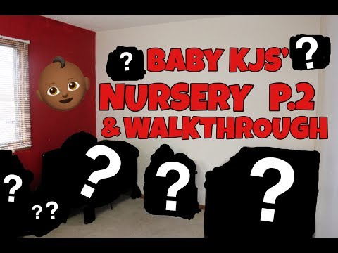 WE GOT HIS CRIB!!! | BABY KJS' NURSERY P.2 | WALKTHROUGH!