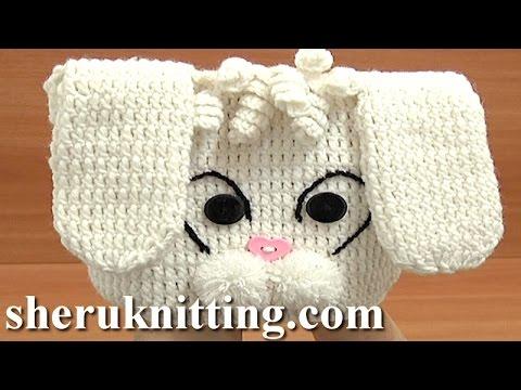 Crochet Hat Tutorial 1 Part 1 Of 3 Free Crochet Animal Hat Pattern