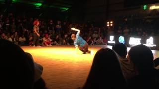 Silverback Open 2016 Bgirl Battle