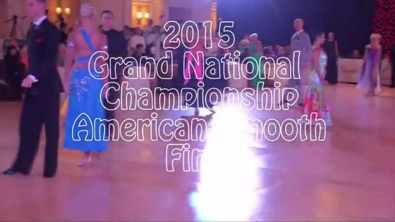 Professional American Smooth Final Round 2015 Grand National Championships