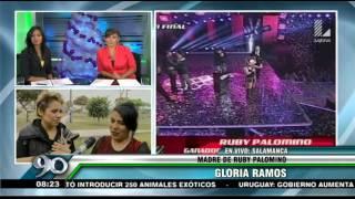 """Ruby Palomino: """"Estoy agradecida con la vida y con mi país"""""""
