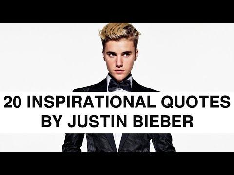 25 INSPIRATIONAL JUSTIN BIEBER QUOTES