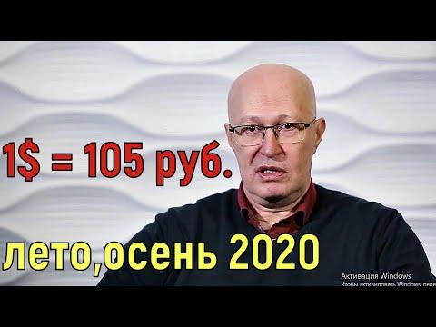 В.Соловей. Курс доллара летом осенью 2020 года. Девальвация рубля. Курс рубля после дня голосования.