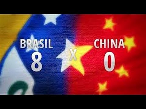 Brasil 8 x 0 China - Amistoso Internacional 10-09-2012 - Jog