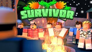 SURVIVORS BETA In ROBLOX!! GETTING VOTED OFF THE ISLAND! (Roblox Gameplay)