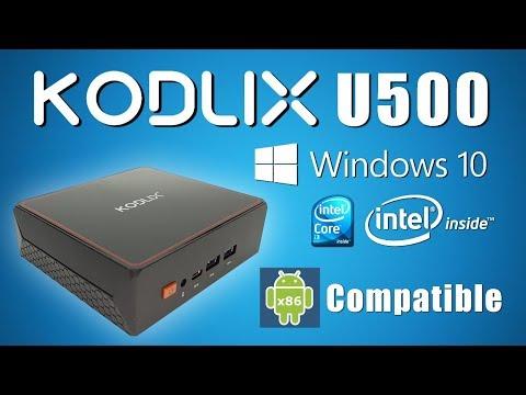 Such POWER!!! Kodlix U500 Intel Core I3 Windows 10 Mini PC Review - Dual Boot Android 8.1 Beast