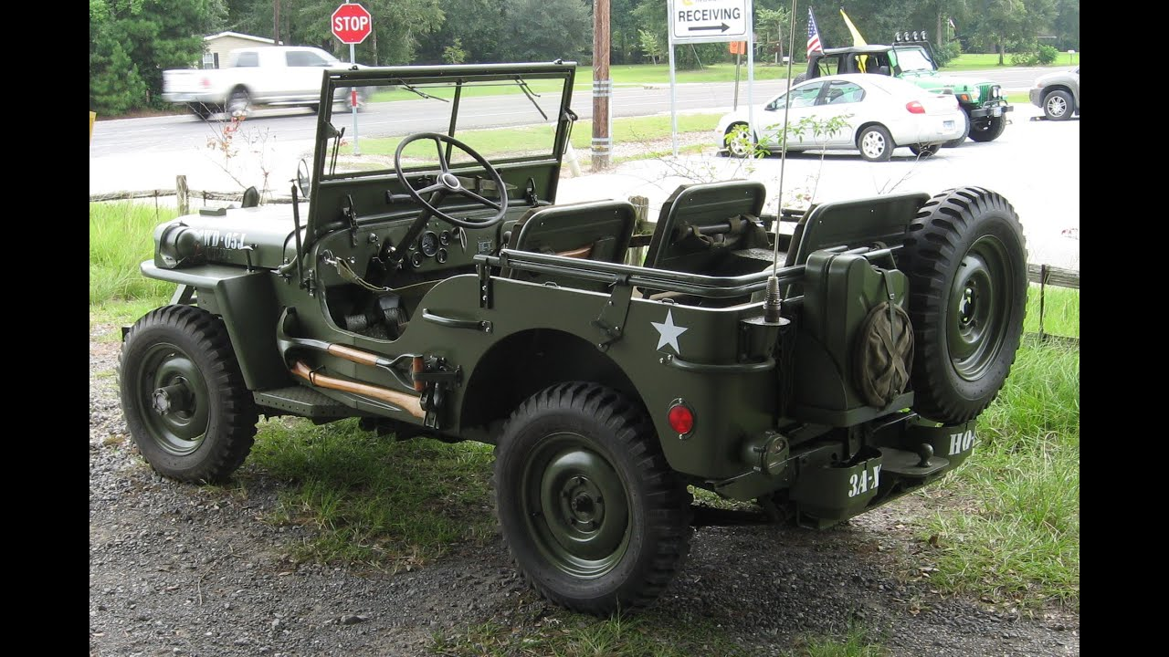 1943 Willys Jeep Mb Tribute Part 1 Of 2 Youtube