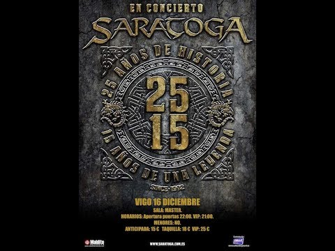Saratoga - viaje por la mente, en Concierto Vigo2017