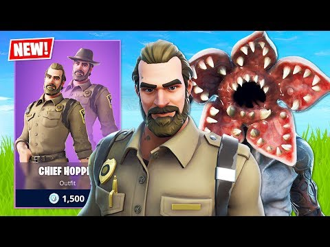 FORTNITE X STRANGER THINGS!! (Fortnite Battle Royale)