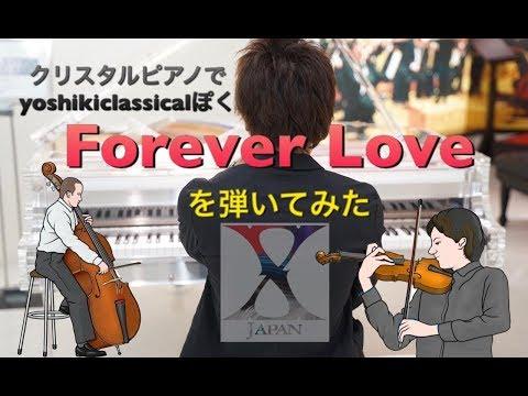 Yoshiki classicalっぽくForever Loveを弾いてみた