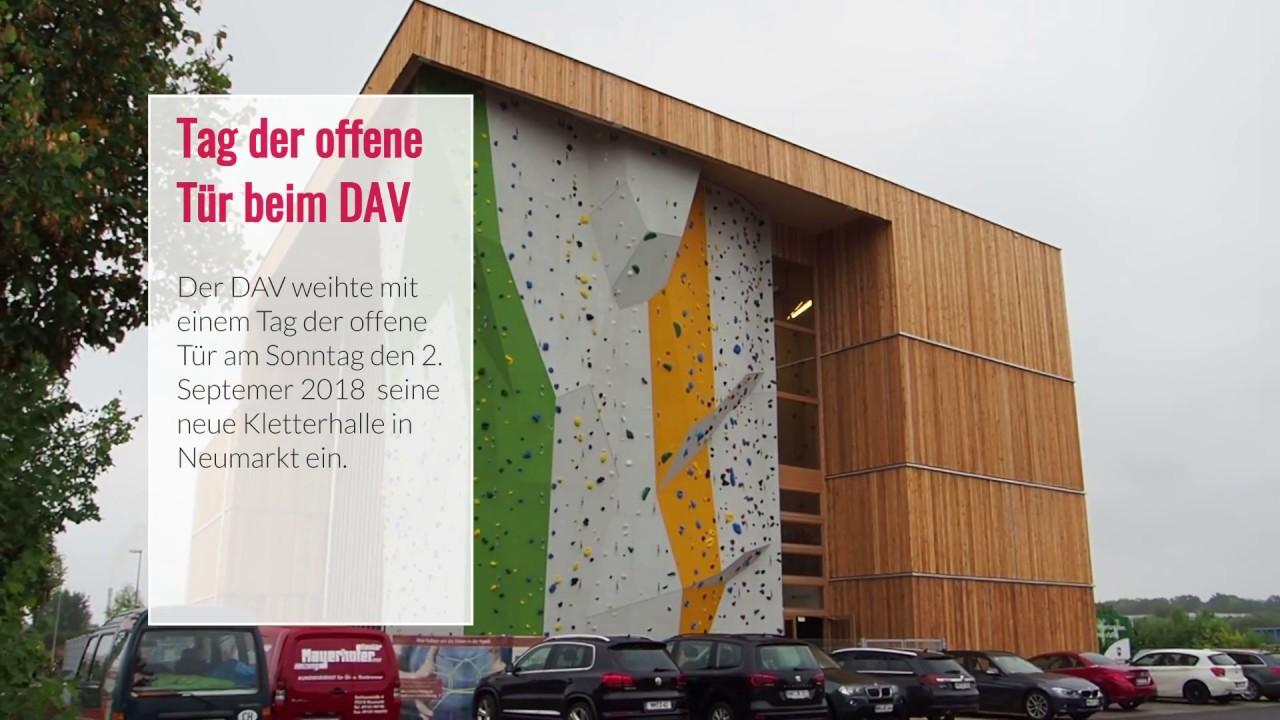 Kletterausrüstung Neumarkt : Eröffnung kletter und boulderzentrum des dav neumarkt youtube