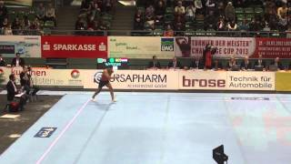 Jeffrey Wammes (NED) - FX  - Turnier der Meister Cottbus 2013