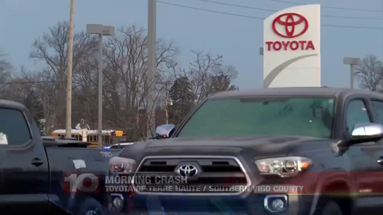 Terre Haute Car Dealerships >> Car Crashes Into Toyota Dealership