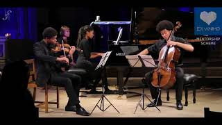 Kanneh-Mason Piano Trio, Beethoven Op.1 No.3 in C minor, I. Allegro con brio