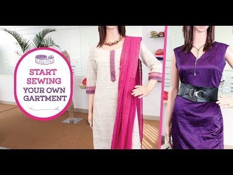 Intro to Online sewing classes in Indian Ethnic wear on www.savisfashionstudio.com