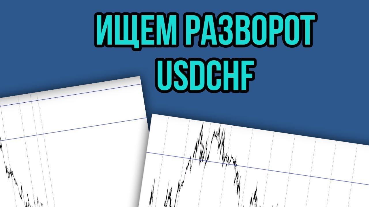 Смотрим уровень поддержки USDCHF. Торговые рекомендации с Александром Борских