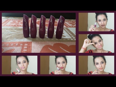 Blue Heaven Fashion Lipsticks Review/ Check Description box for more Details