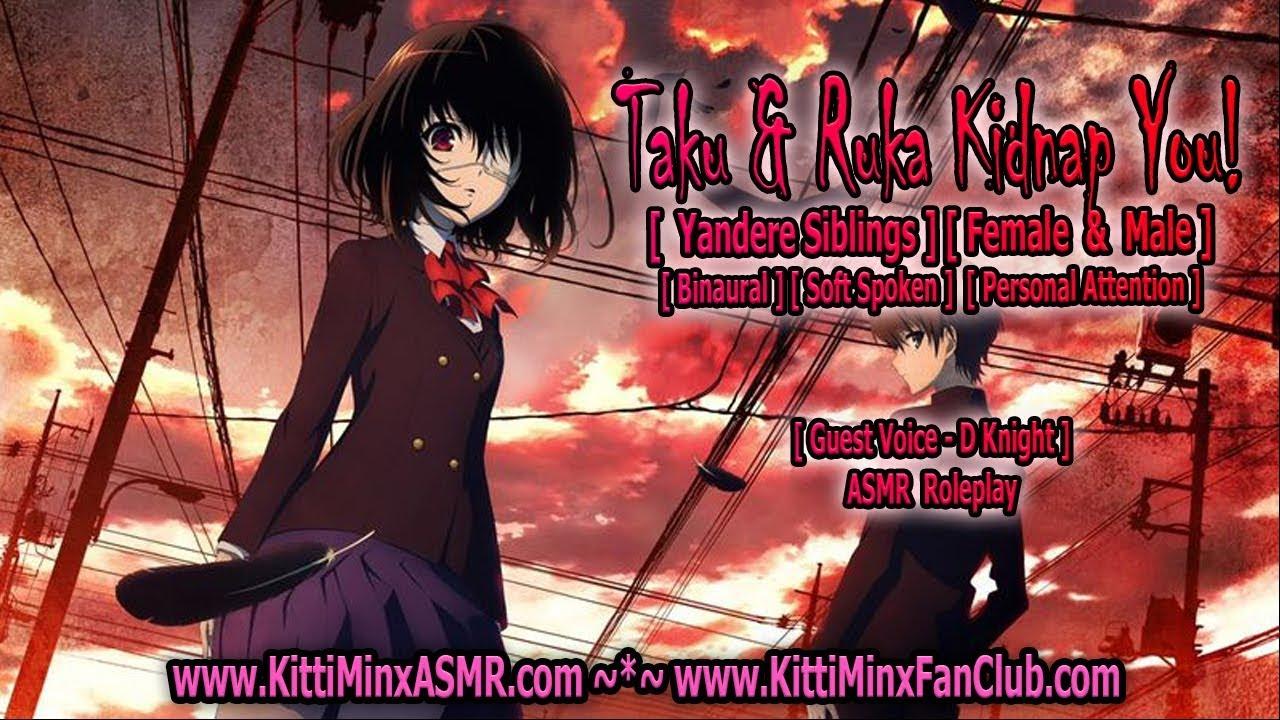 Kitti Minx ASMR - Taku And Ruka Kidnap You! ( YANDERE Siblings ) Audio Roleplay [ Mature ]