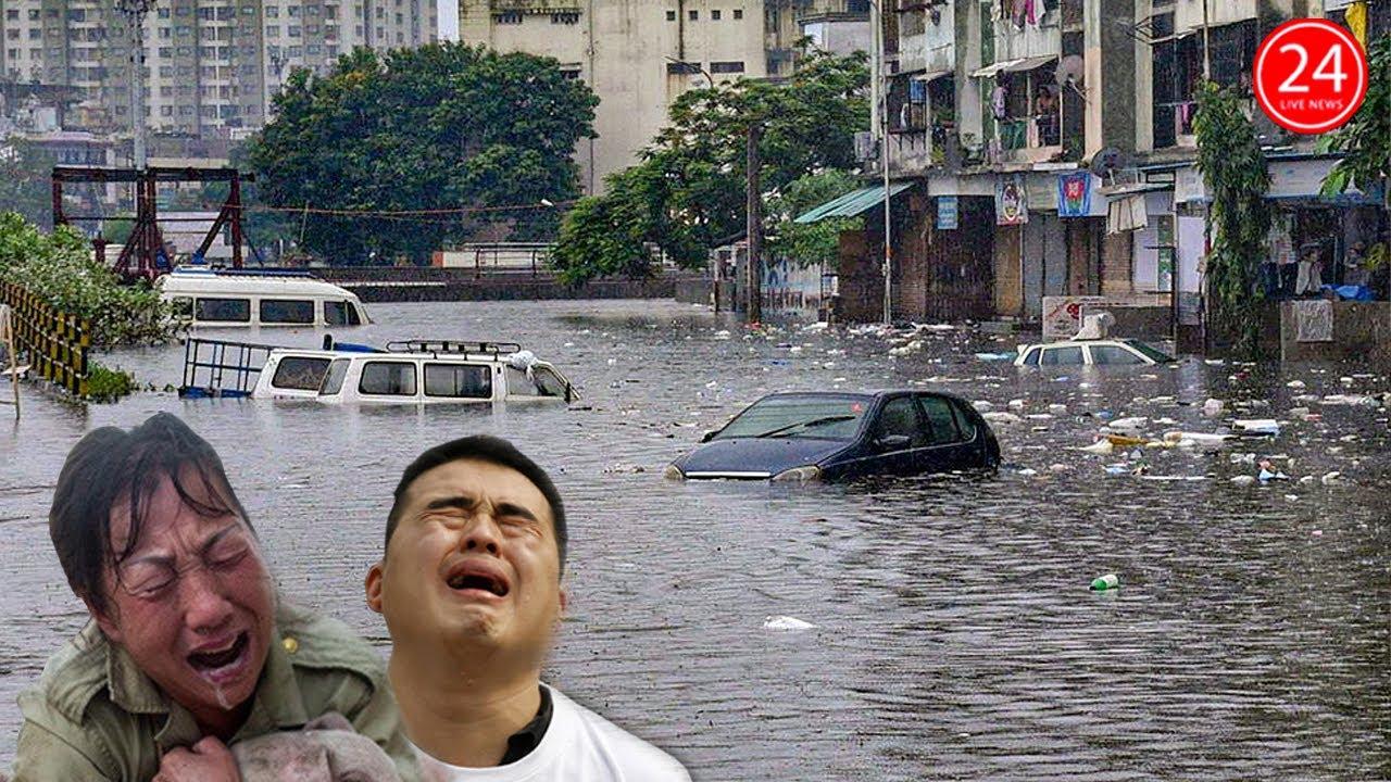 Lũ Lụt Trung Quốc 21 8 Lũ Quet Kinh Hoang Tiếp Tục Tan Pha Miền Nam Trung Quốc Youtube