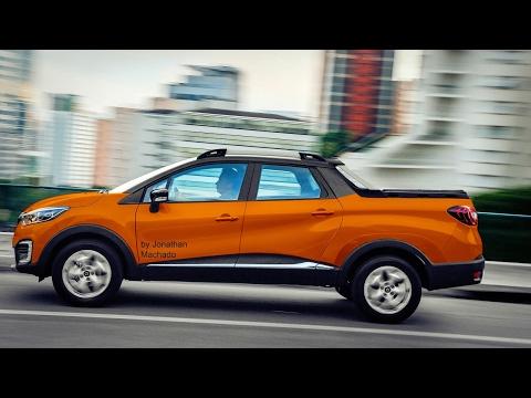 MAKING OF Renault Captur Oroch 2019 @ Captur Pickup