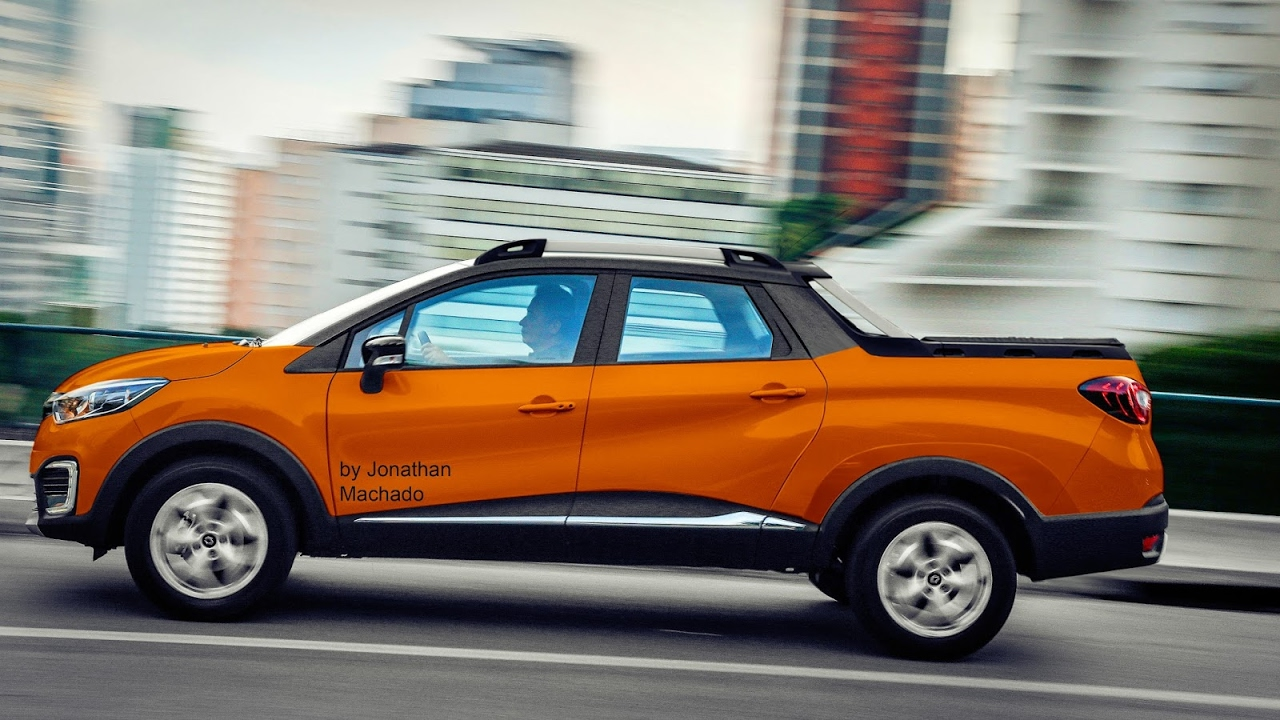 Dacia Pickup 2017 >> MAKING OF Renault Captur Oroch 2019 @ Captur Pickup - YouTube