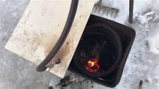 Бесплатное топливо, Горение водяного газа 4 часть